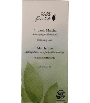 ORGANIC MATCHA ANTI-AGING ANTIOXIDANT CLEANSING FOAM 177 ml